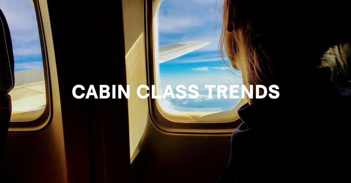 cabin class trends