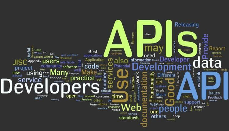 APIs word graph